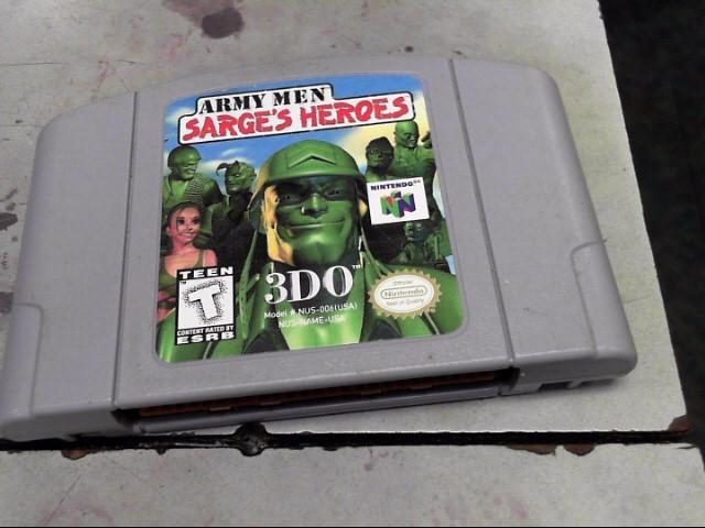 NINTENDO Nintendo 64 ARMY MEN SARGES HEROS