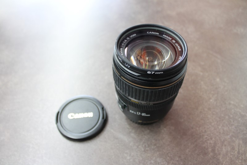 CANON Lens/Filter EFS 17-85MM