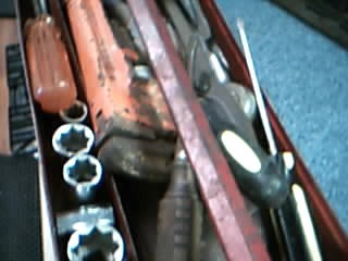 Mixed Tool Box/Set MISC TOOLS IN TOOL BOX