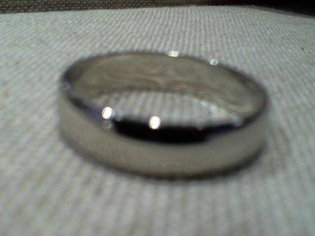 Gent's Gold Ring 14K White Gold 2.65g