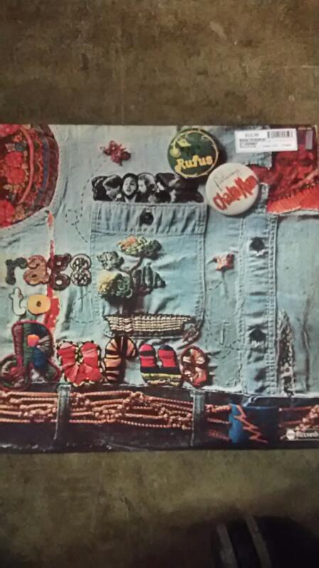Rags to Rufus FT. Chaka Khan Vinyl