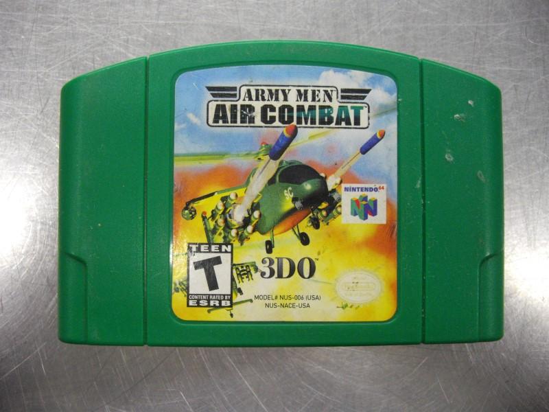 NINTENDO N64 ARMY MEN AIR COMBAT