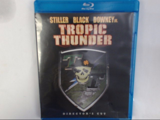 BLU-RAY MOVIE TROPIC THUNDER