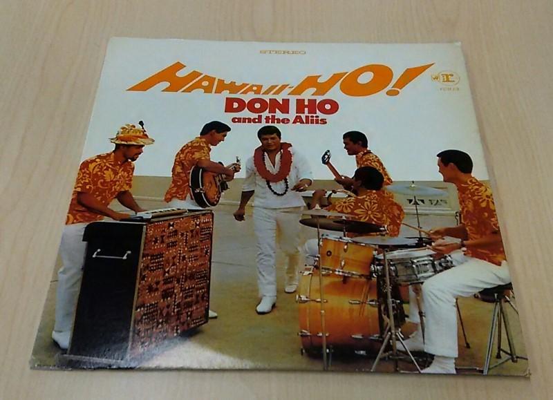 Don Ho And The Aliis Hawaii-Ho 6303 Vinyl Record