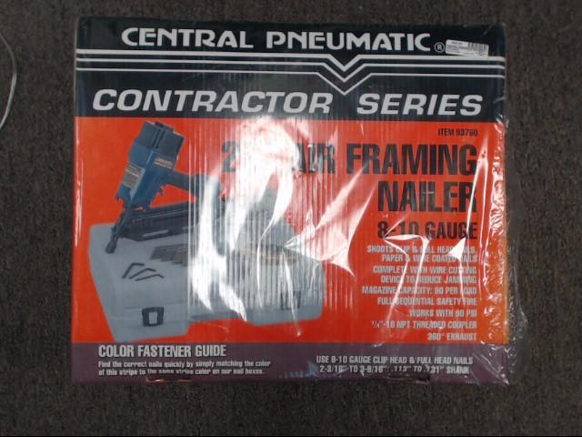 CENTRAL PNEUMATIC Nailer/Stapler 93760