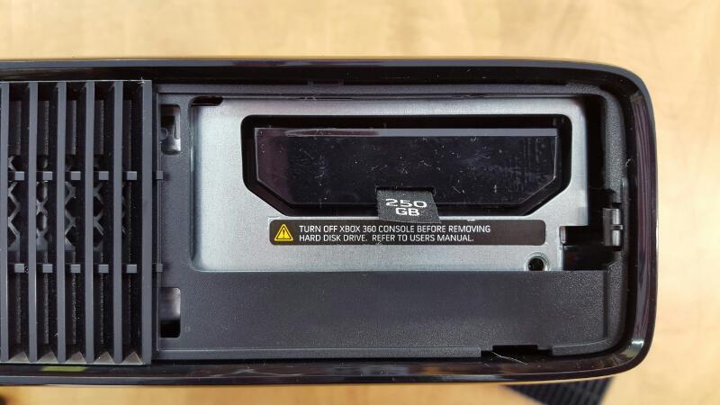 MICROSOFT XBOX 360 - 250GB - 1439 CONSOLE