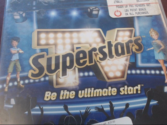 SONY PS3 TV SUPERSTARS