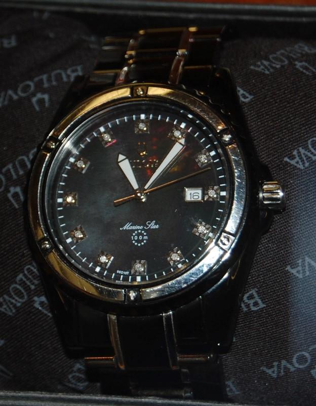 BULOVA Gent's Wristwatch MARINE STAR 98D107