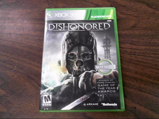MICROSOFT Microsoft XBOX 360 Game XBOX 360 DISHONORED