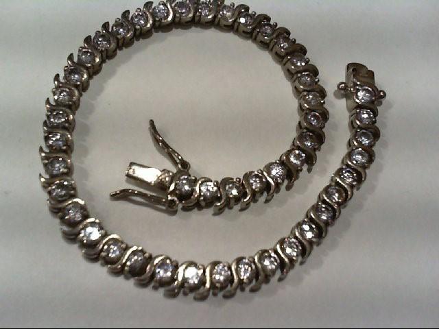 Silver Bracelet 925 Silver 13.2g