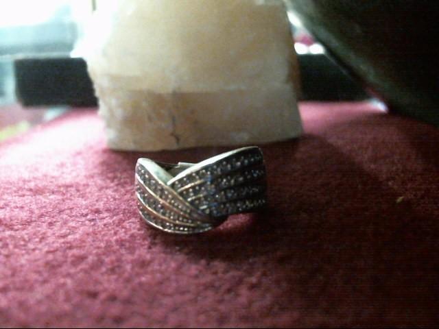 Gent's Diamond Cluster Ring 50 Diamonds .50 Carat T.W. 14K Yellow Gold 3.9dwt