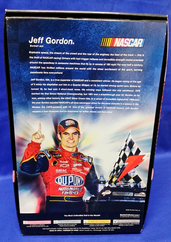 NASCAR BARBIE - JEFF GORDON