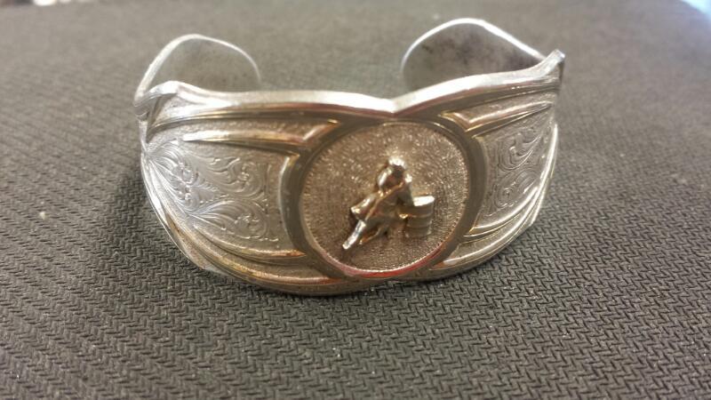 Silver Bracelet Silver Plate 28.01dwt