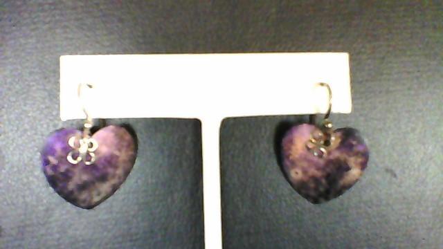 Jody Coyote Heart Earrings