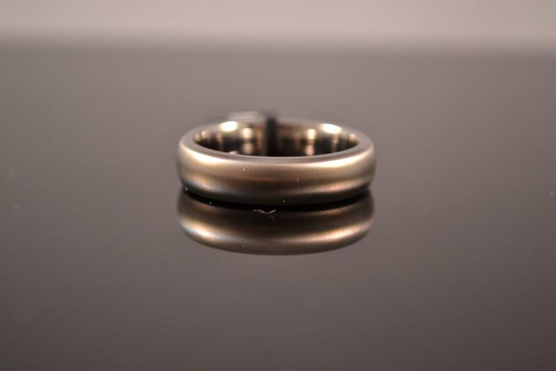 Gent's Ring Silver Titanium 4.2g