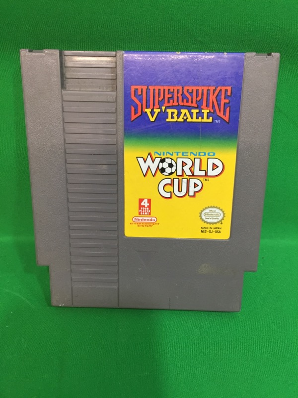 NINTENDO Nintendo NES Game SUPERSPIKE V'BALL WORLD CUP
