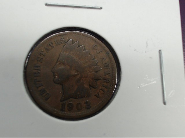 1902 UNITED STATES 1902 INDIAN HEAD PENNY