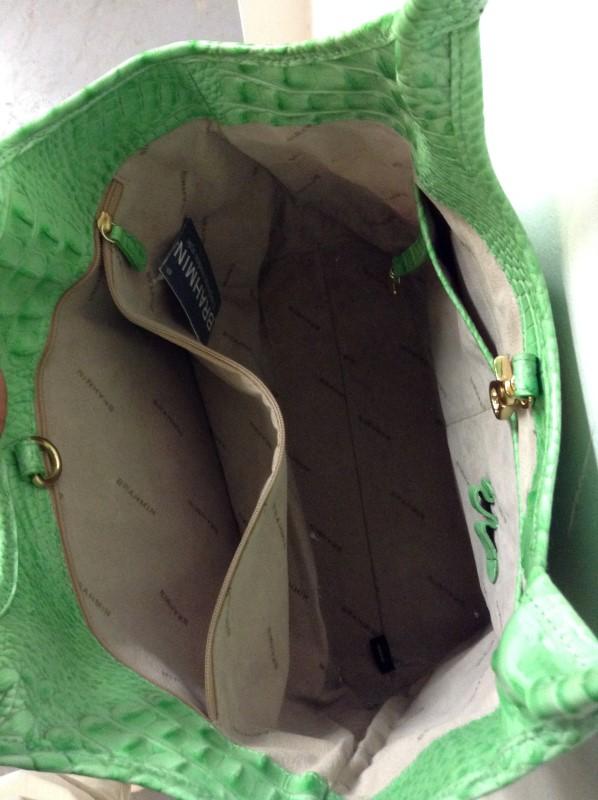 BRAHMIN Handbag ALLEGATOR HANDBAG