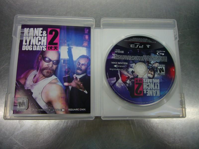 SONY Sony PlayStation 3 Game KANE & LYNCH DOG DAYS 2