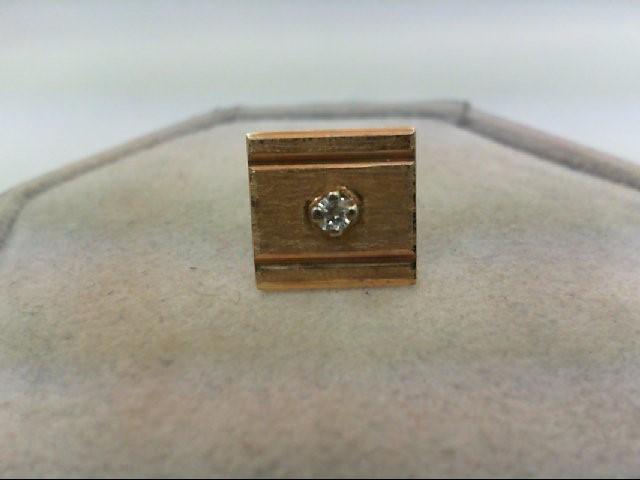 Gold-Diamond Misc. 0.05 CT. 10K Yellow Gold 0.9g