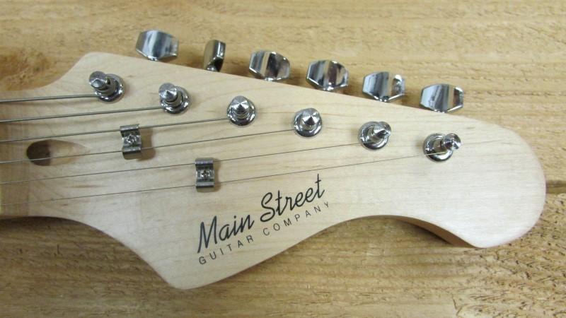 MAIN STREET GUITAR COMPANY Electric Guitar MEDCPNK