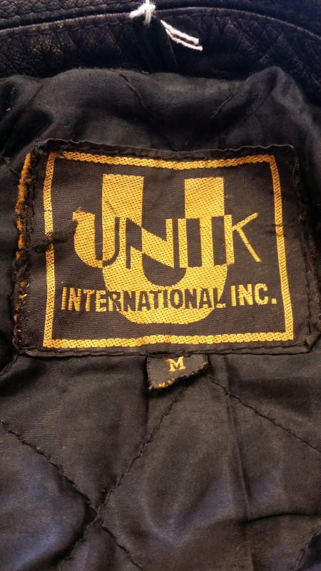 UNIK Clothing BLACK LEATHER JACKET