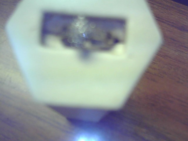 Lady's Diamond Engagement Ring 29 Diamonds .29 Carat T.W. 10K White Gold 2.4g