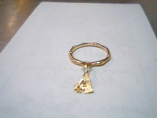 Lady's Gold Ring 14K Yellow Gold 1.1g