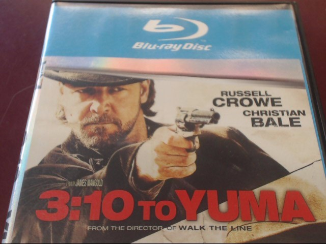 3:10 TO YUMA - BLU-RAY MOVIE