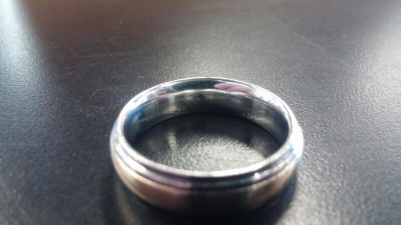 Gent's Ring Silver Stainless 5.2dwt
