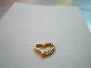 Gold Charm 14K Yellow Gold 0.24g