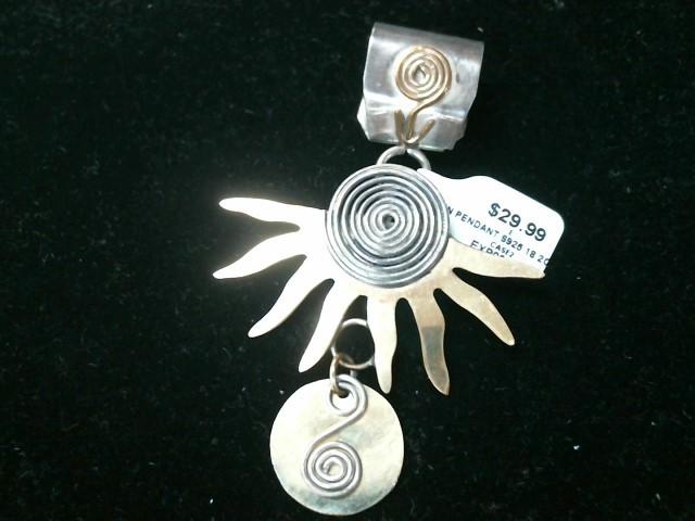 Silver Pendant 925 Silver 18.2g