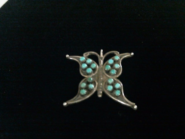 S925 AND TURQUOISE BUTTERFLY