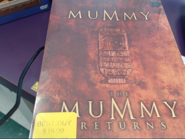 DVD BOX SET DVD THE MUMMY COLLECTOR'S SET
