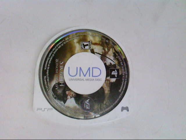 SONY Sony PSP Game MEDAL OF HONOR HEROES PSP