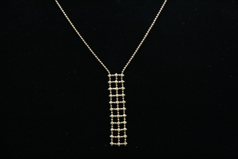 "16"" FASHION STYLE NECKLACE  2.3g"