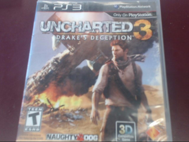 SONY PS3 UNCHARTED 3 DRAKE'S DECEPTION