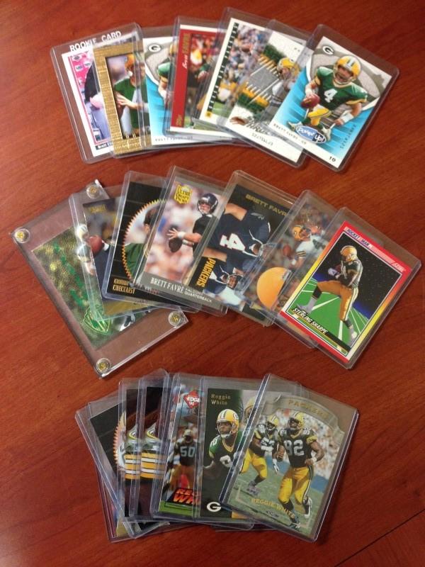 GREEN BAY 90'S GREATS CARD LOT!