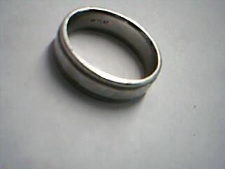 Gent's Platinum Ring 999 Platinum 10.82g