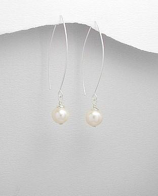 Silver Earrings 925 Silver 2.77g
