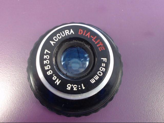 ACCURA Lens/Filter DIA-LITE F=50MM
