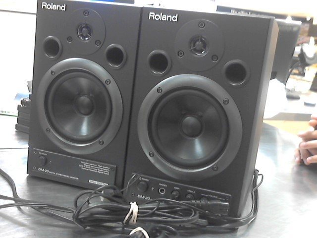 ROLAND Speakers/Subwoofer DM-20