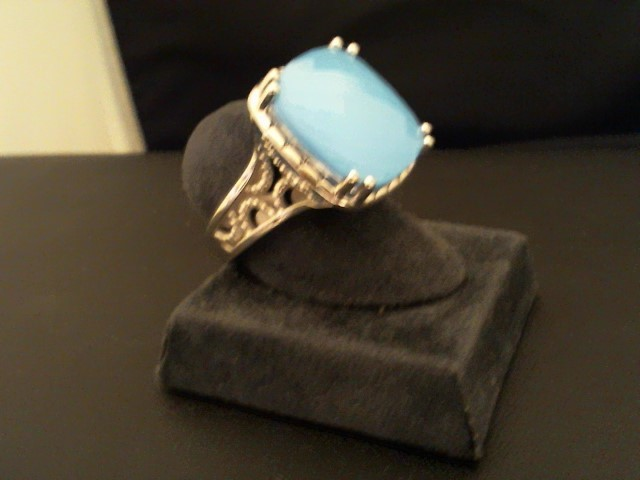 Lady's Silver Ring 925 Silver 10.9g