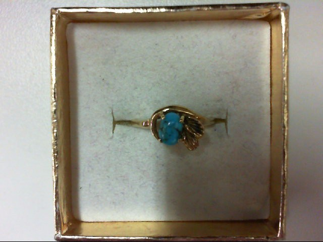 Lady's Gold Ring 14K Yellow Gold 2g Size:4.75