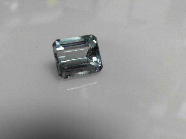 6.48cts Aquamarine Emerald Cut Stone