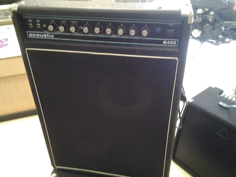 ACOUSTIC BASS GUITAR AMP B450