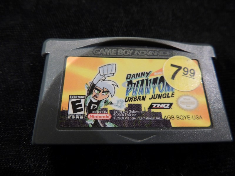 DANNY PHANTOM URBAN JUNGLE - GAMEBOY ADVANCED GBA