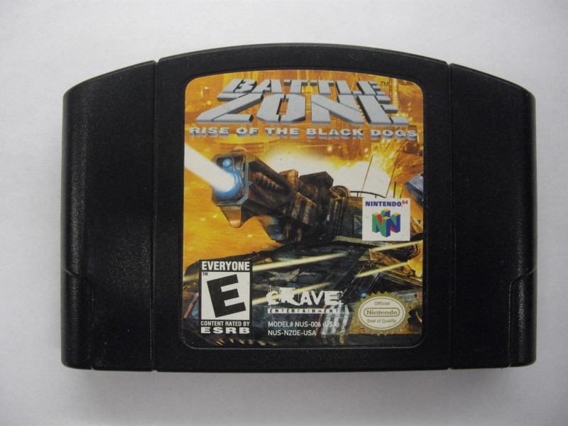 NINTENDO 64 Game BATTLEZONE *CARTRIDGE ONLY*