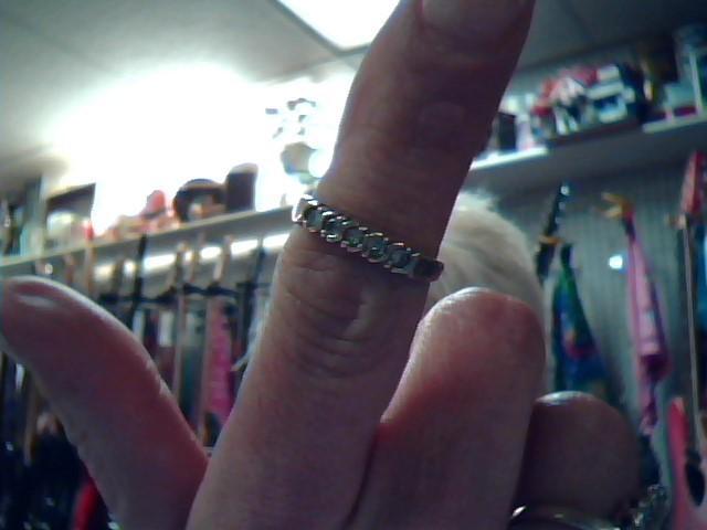 Lady's Diamond Fashion Ring 5 Diamonds .35 Carat T.W. 14K Yellow Gold 1.95dwt