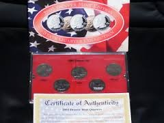 UNITED STATES Mint Set 2003 DENVER MINT EDITION STATE QUARTER COLLECTION